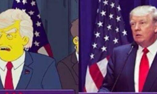 image: Skaperne av «The Simpsons» spådde Trumps presidentskap for 16 år siden