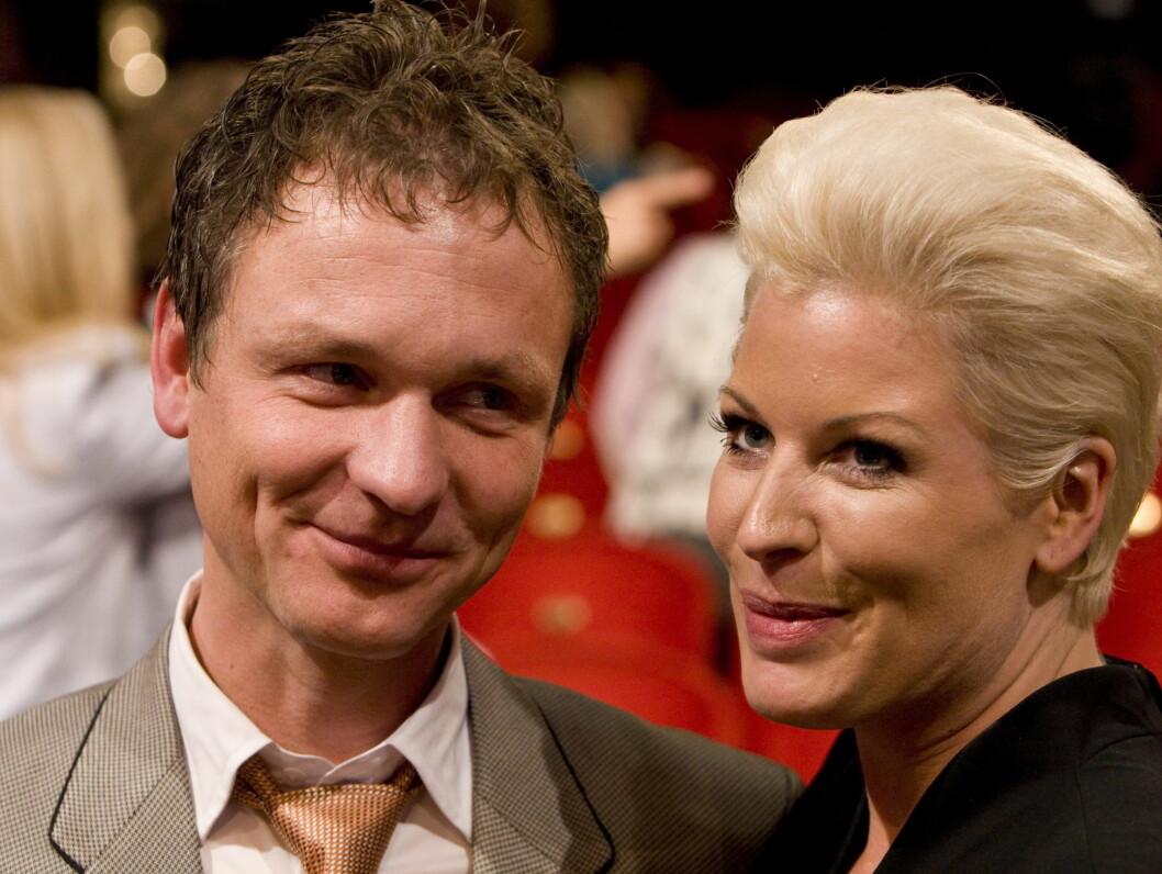 FANT KJÆRLIGHETEN: Kort tid etter at Anne-Kat. Hærland skilte seg fra ektemannen, fant hun lykken med sin lydtekniker. Foto: SCANPIX