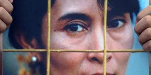 image: - Vil løslate Aung San Suu Kyi