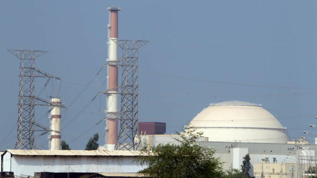 <strong>ANGREPET:</strong> Det iranske atomanlegget i Bushehr antas å være målet for et cyberangrep. Foto: AFP
