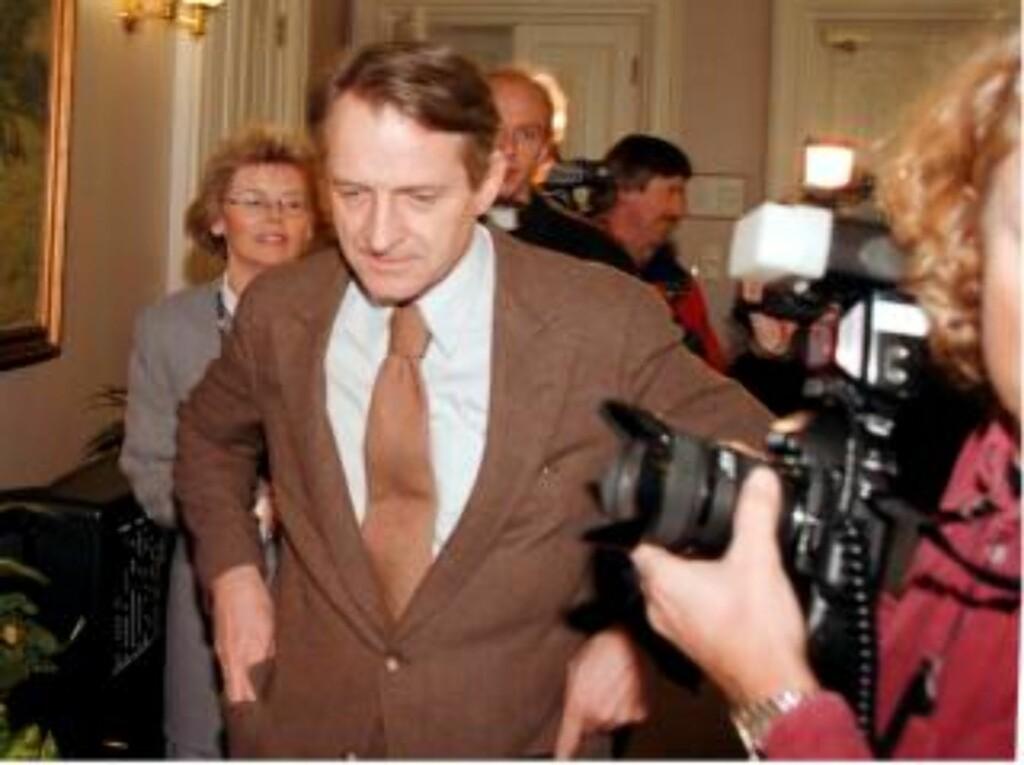 SA INGENTING: Lund-kommisjonens leder Ketil Lund i Stortinget i 1996. Han visste Treholt var videoovervåket, men sa ikke noe om det før denne uka.  FOTO GUNNAR LIER / SCANPIX