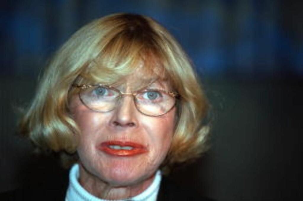-SJOKKERT: Mona Røkke var justisminister da Treholt ble overvåket. Foto: SCANPIX