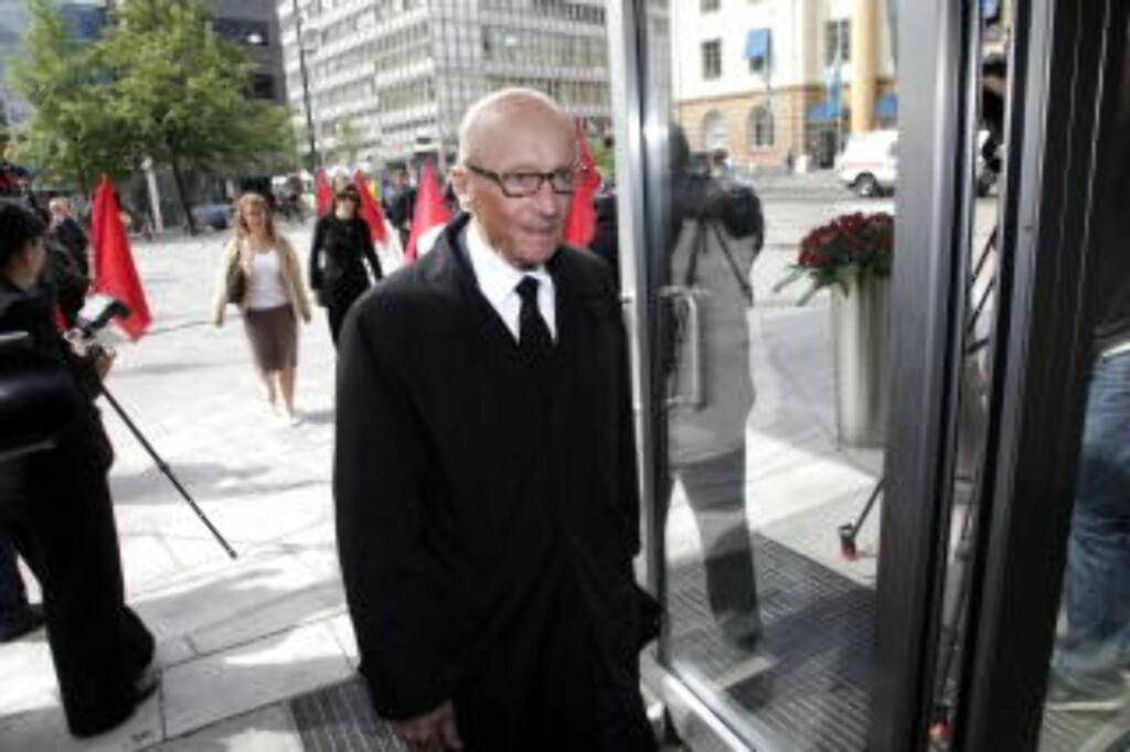 VISSTE IKKE: Kåre Willoch var statsminister da Treholt ble videoovervåket.  Foto: Geir Bølstad / Dagbladet