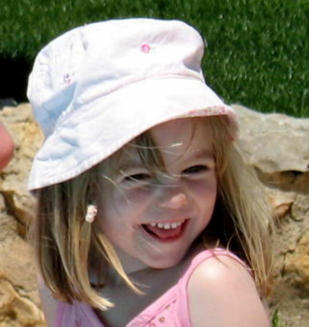 Forsvant: Madeleine McCann forsvant fra ferieleiligheten i Portugal 3. mai, 2007. Foto: Scanpix