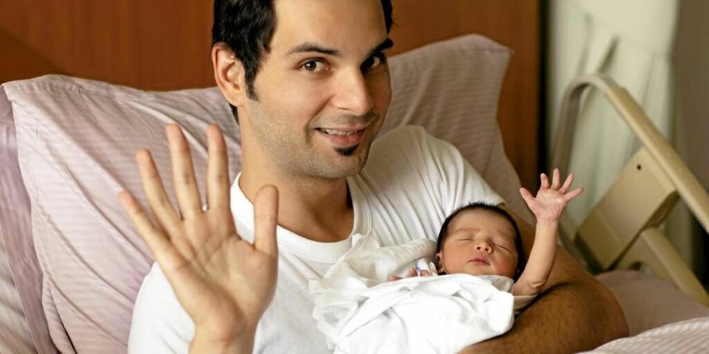 NY PAPPABOK: Pappabokmarkedet har fått ett nytt tilskudd; boka Daddy Cool - kunsten å være pappa som handler om pappamestring og papparollen. FOTO: Istockphoto.com