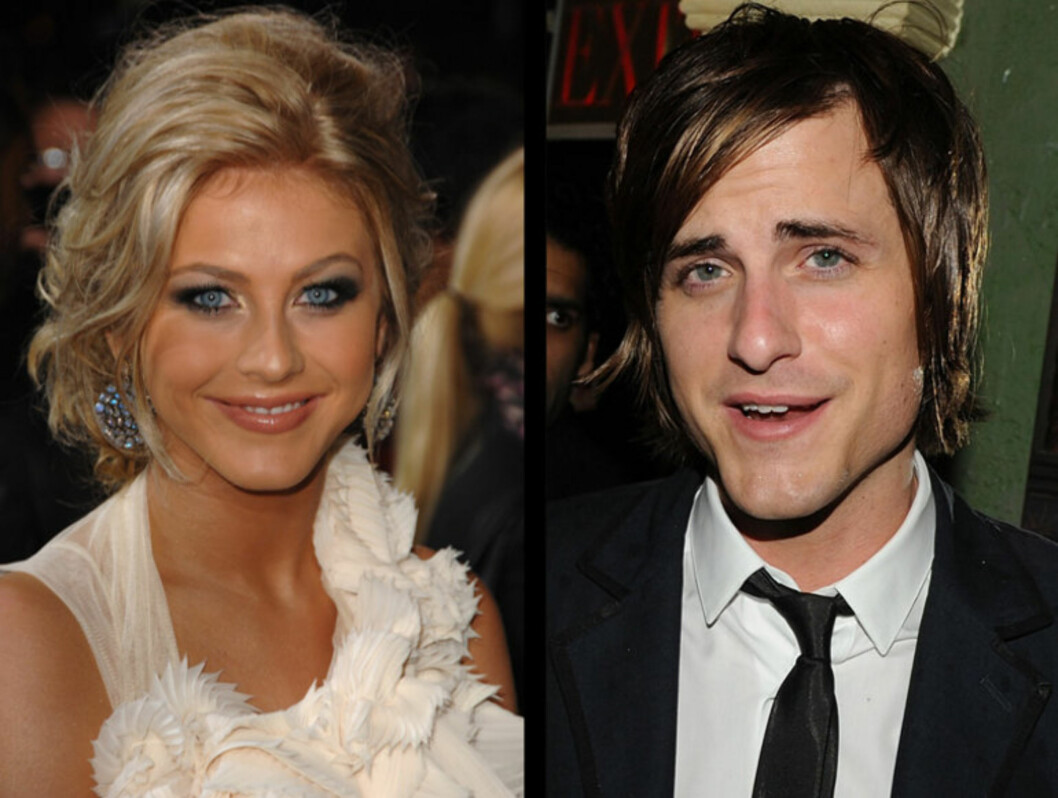NYTT PAR?: Julianne Hough og Jared Followill skal ha kost seg sammen på en bar i Nashville. Foto: All Over Press