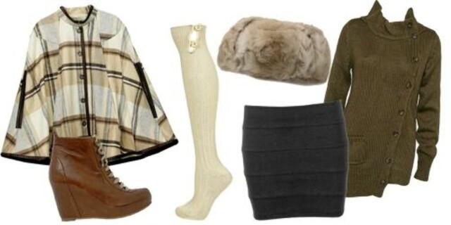 fd1f7bf2 FRA VENSTRE: cape fra H&M (kr 599), sko fra Bianco (kr