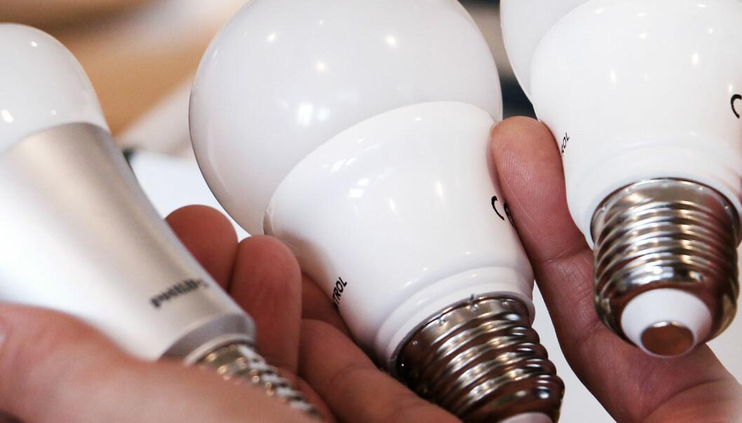 «Smarte»LED-pærer bruker mye mer strøm