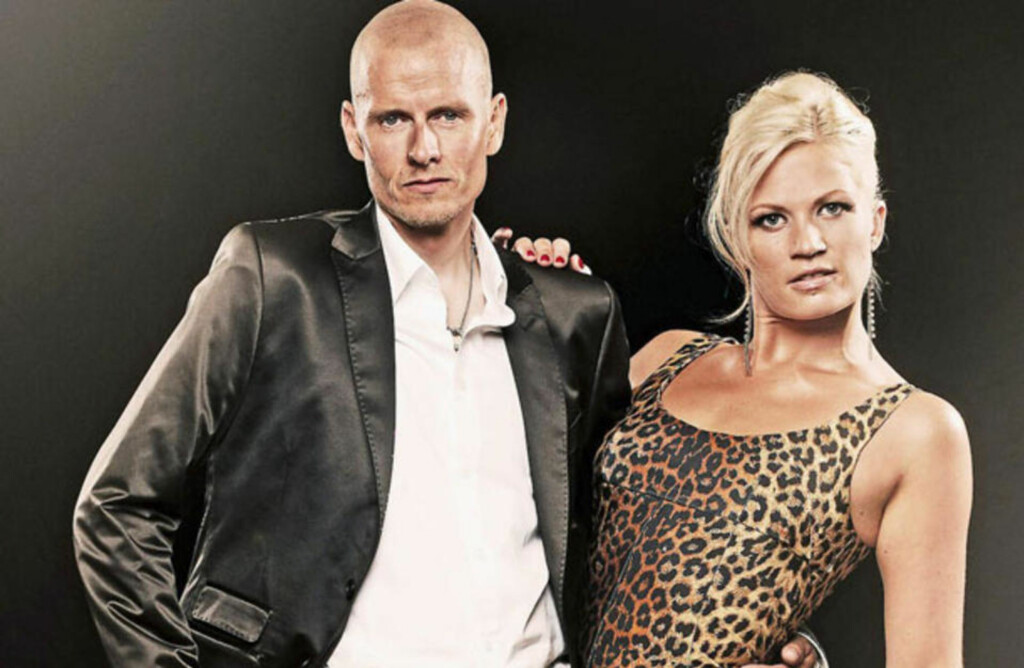 DANSER: Michael Rasmussen med sin dansepartner Mie Moltke. Foto: Dansk TV2