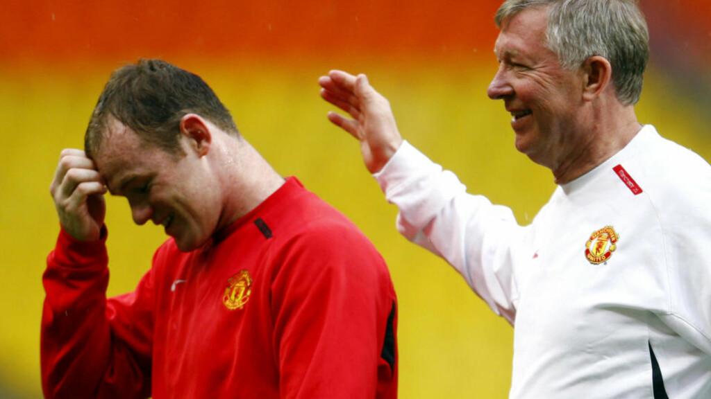 - DET PRELLER AV: Manchester Uniteds manager Alex Ferguson hevder det preller av som vann på gåsa at Wayne Rooney taler ham midt imot. Foto: Eddie Keogh, Reuters/Scanpix