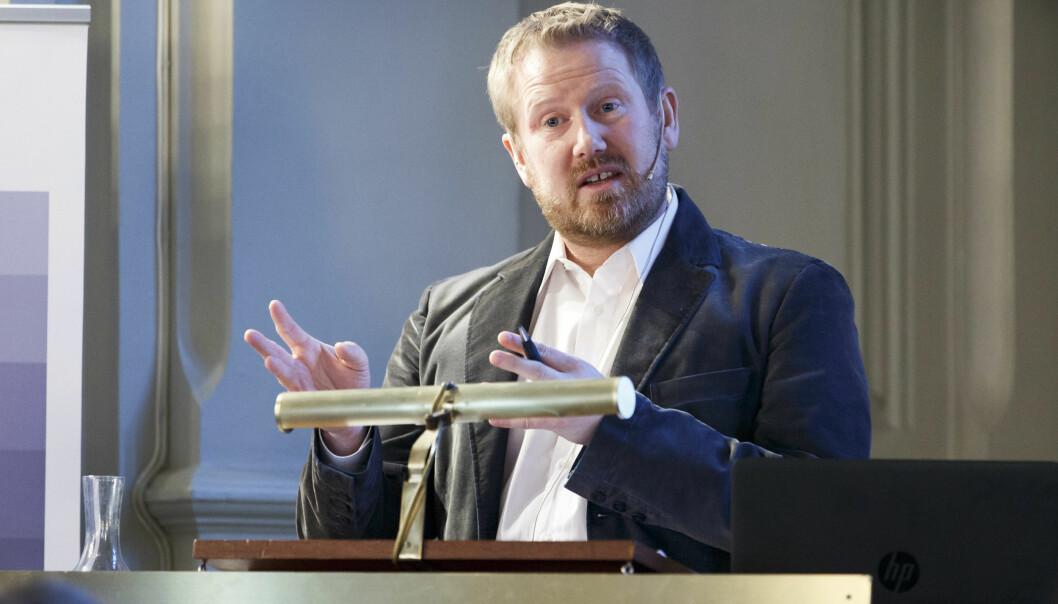 <strong>FORSKER:</strong> Anders Romarheim, forsker og USA-kjenner ved Institutt for forsvarsstudier (IFS), en del av Forsvarets høgskole (FHS).  Foto: Gorm Kallestad / NTB scanpix