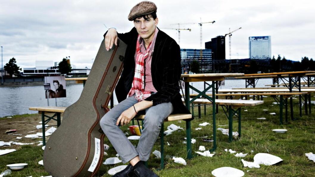 <strong>Håkan Hellström:</strong> Gøteborg-mannen er ute med sitt femte album.  Foto: NINA HANSEN/ Dagbladet