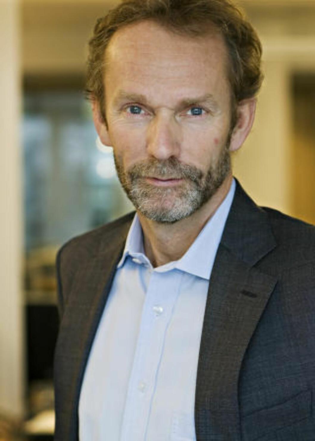 - PASSER IKKE: Harald Magnus Andreassen mener det høye honoraret ikke passer Oljefondet. Foto: First Securities