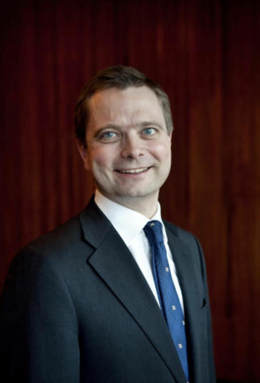 ØNSKER MER NORSK: Harald Espedal i Skagenfondene ønsker mer norsk forvaltning. Foto: Skagenfondene