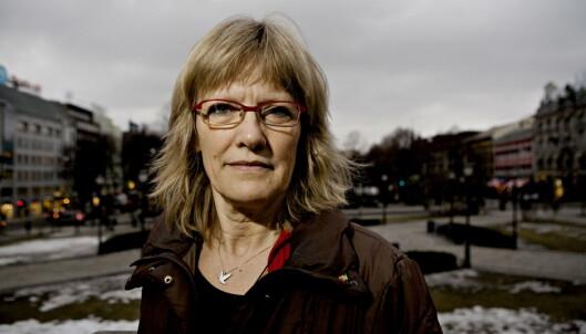 <strong>TVILER:</strong> SVs Karin Andersen tviler på at det er grunn til å glede seg over tallene Hauglie presenterer. Torbjørn Grønning / Dagbladet