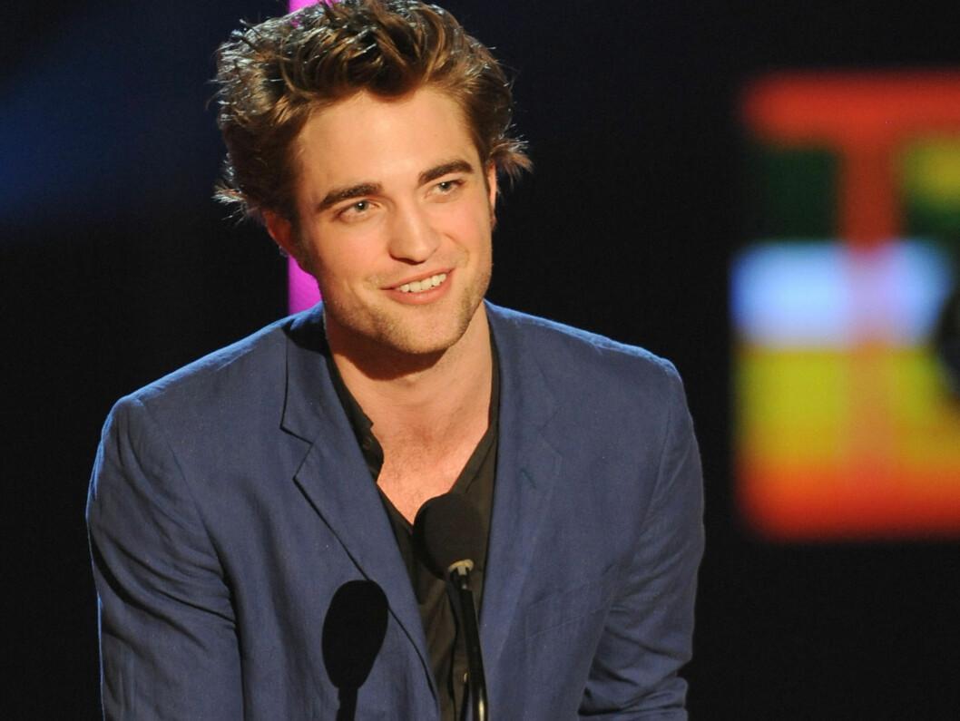VERDENS MEST SEXY: Robbert Pattinson ble kåret til verdens mest sexy mann. Foto: All Over Press