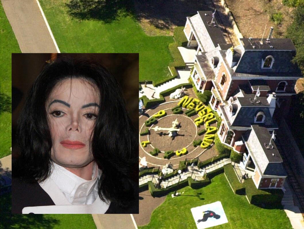 DRØMTE OM NEVERLAND: Ifølge The Mirror, skal Jackson ha drømt om at Neverland skulle bli hans siste hvilested. Foto: AP