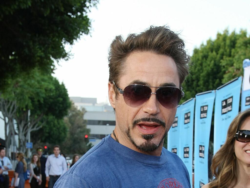 """STJERNESTATUS; Downey Jr. har medvirket i storfilmer som """"Zodiac"""", """"Good Night, and Good Luck"""", og """"Kiss Kiss bang Bang"""".  Foto: All Over Press"""