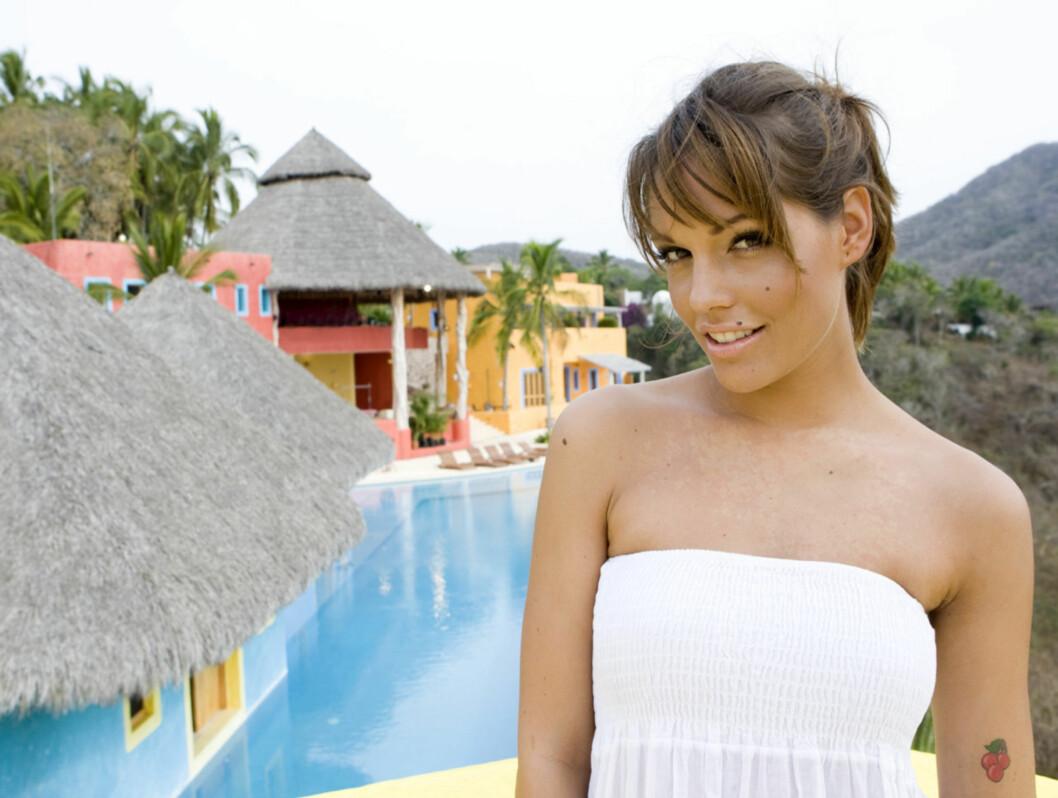 """TAR TIL MOTMÆLE: - Nå har ikke jeg sett """"Ungkaren"""" i år, men at """"Paradise Hotel"""" ikke har mål og mening stemmer ikke i det hele tatt. Det har like mye mening som """"Ungkaren"""" har, og det er like spennende, dette, mener Triana Iglesias. Foto: TV 3"""