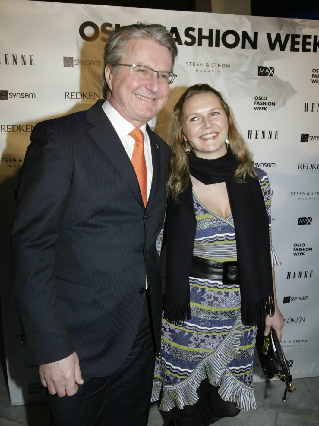 MOTELØVE: Oslos ordfører Fabian Stang kom sammen med kjæresten Catharina Munthe. Foto: SCANPIX