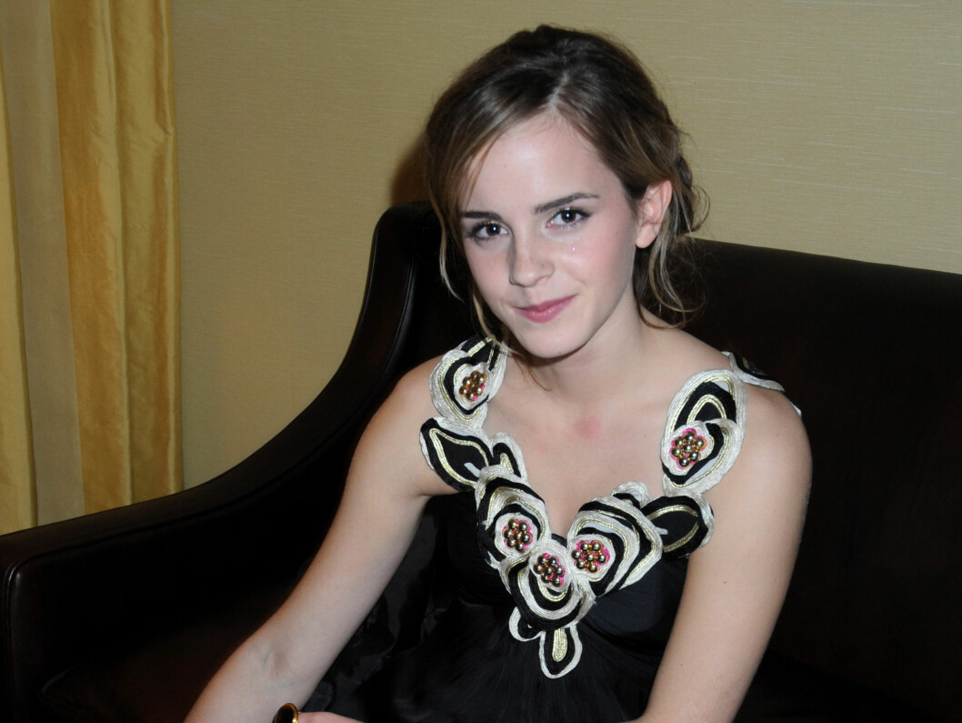 NACHSPIEL: Emma Watson koste seg på nachspielet. Foto: All Over Press
