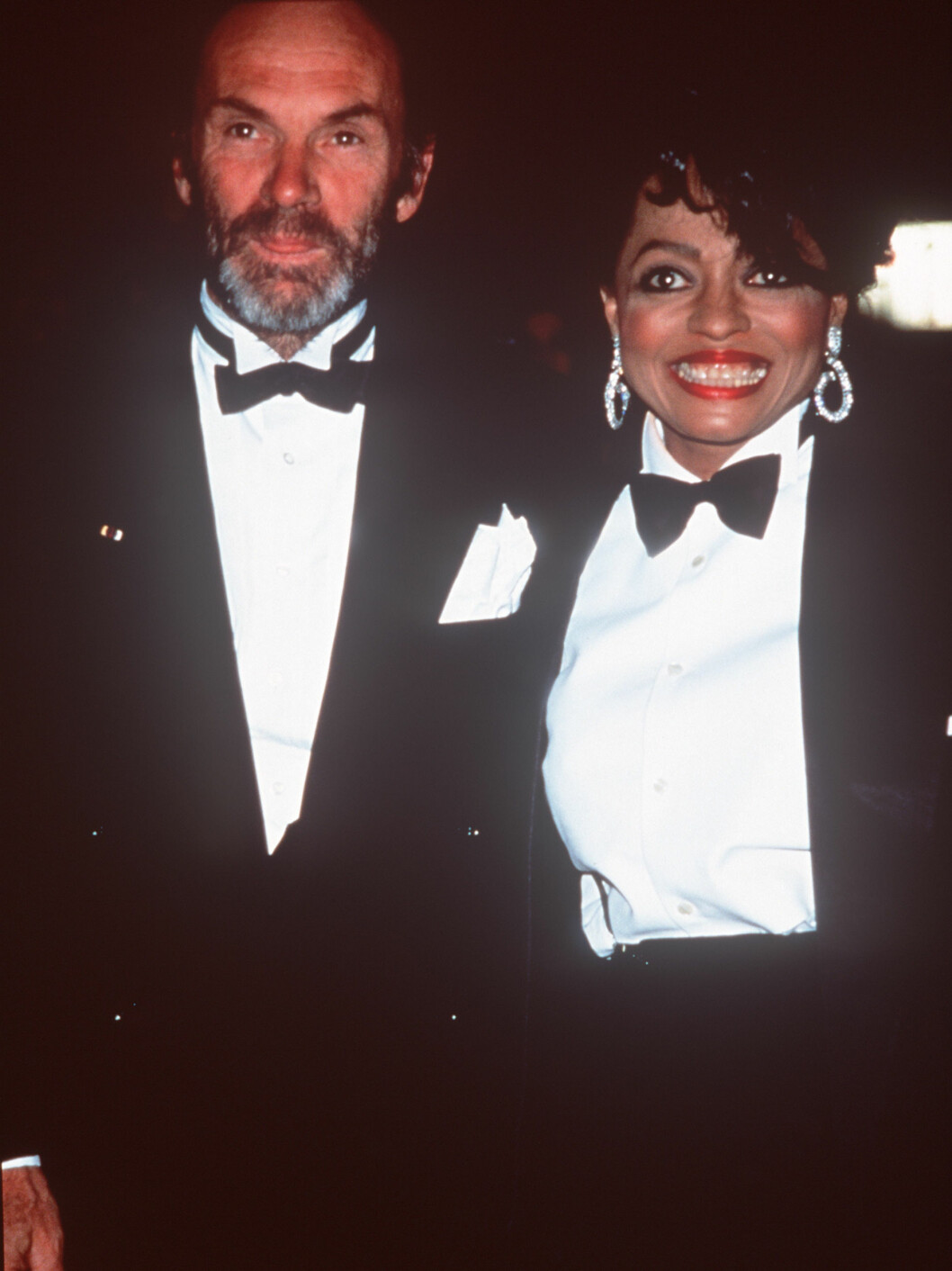 JUBILEUM: Arne Næss var med da Diana Ross feiret 30 år som artist. Foto: scanpix