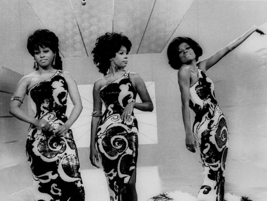 """LEGENDARISK TRIO: The Supremes med Diana Ross i spissen ble legendariske på 60-tallet, med monsterhits som """"Baby love"""". Her er Cindy Birdsong, Mary Wilson og Diana Ross fotografert i 1970. Foto: AP"""