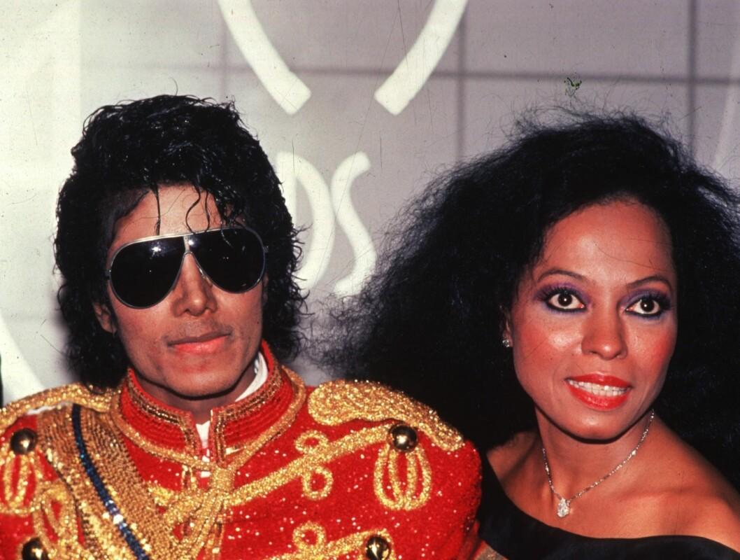 """SKULLE VÆRT GIFT: Historien vil ha det til at Diana Ross skulle gifte seg med Michael Jackson med en gang han ble gammel nok. Slik gikk det ikke, og i 1987 ga Jacko ut låten """"Dirty Diana""""... Foto: Scanpix"""