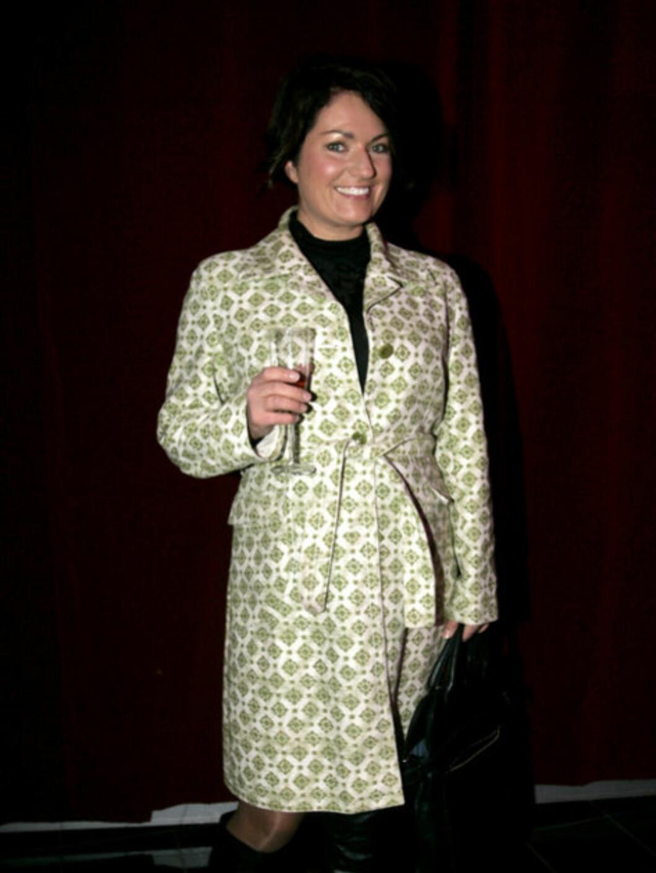 PUBLIKUM: TV Norge-profilen Trine Grung var på plass for å med seg moteshowet. Foto: Stella