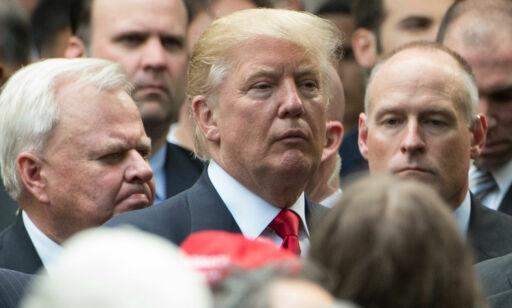 image: Mannskapet Donald Trump omgir seg med, er som hentet fra en politisk skrekkfilm