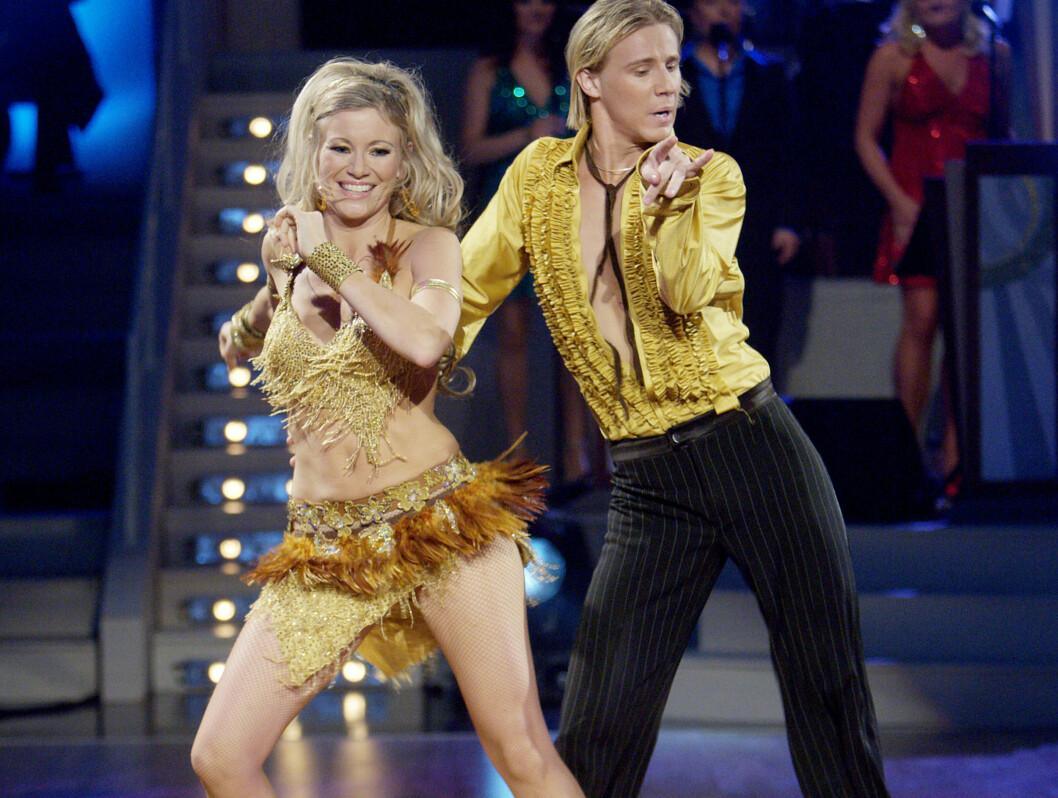 """IMPONERTE: - Jeg trives med å være blond og blid, sa Siri Kalvig etter fredagens """"Skal vi danse"""". Foto: SCANPIX"""