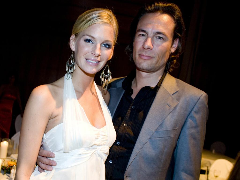 LYKKELIGE FORELDRE: Kathrine Sørland og ektemannen Andreas Holck. Foto: SCANPIX
