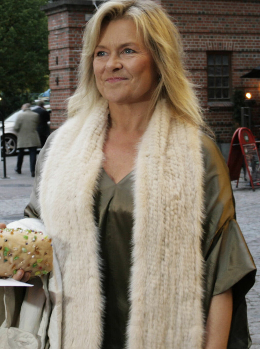 SHOW-KLAR: Elisabeth Andreassen (50) var klar for Anne Kats nye show. Foto: Seher.no