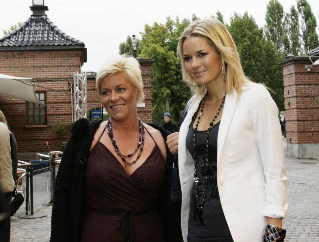 KOM SAMMEN: Frp-politiker Siv Jensen (39) kom sammen med finansdronning Celina Midelfart (35). Foto: Kirsti Ertsås, Seher.no
