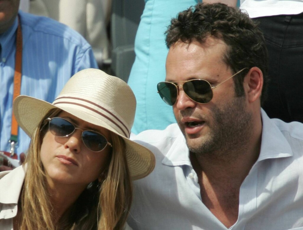 EKSKJÆRESTER: Jennifer Aniston og VInce Vaughn gjorde det slutt i 2006.  Foto: AP