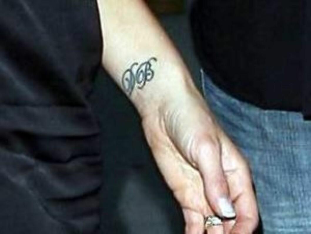 KRUSSEDULLER: Klarer du å se hvem sine initialer dette er - og hvem som bærer dem? Foto: All Over Press