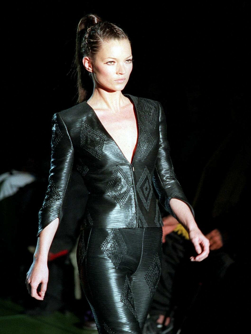 2. PLASS: Britiske Kate Moss med 45 millioner kroner. Foto: AP