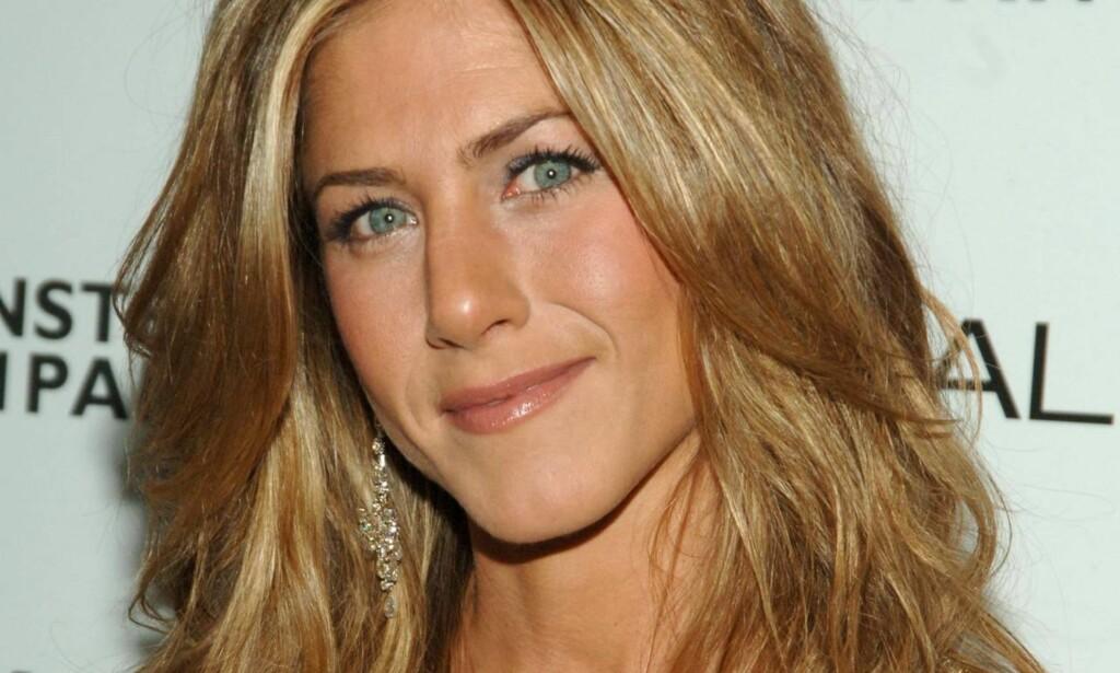 POPULÆR: Jennifer Aniston ble svært populær på grunn av rollen som Rachel Green i «Friends». FOTO: Scanpix