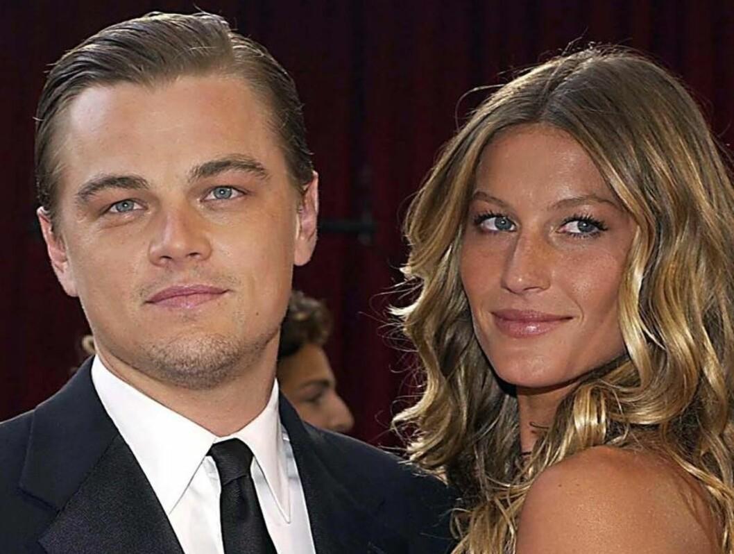 SAVNER EKSEN: Leonardo DiCaprio og Gisele Bündchen var sammen i mange år, og nå han savner han henne. Foto: VG-GLOBE PHOTOS INC.