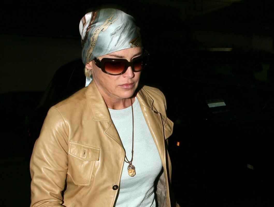 Skuespiller Sharon Stone er på tredjeplass. Foto: All Over Press