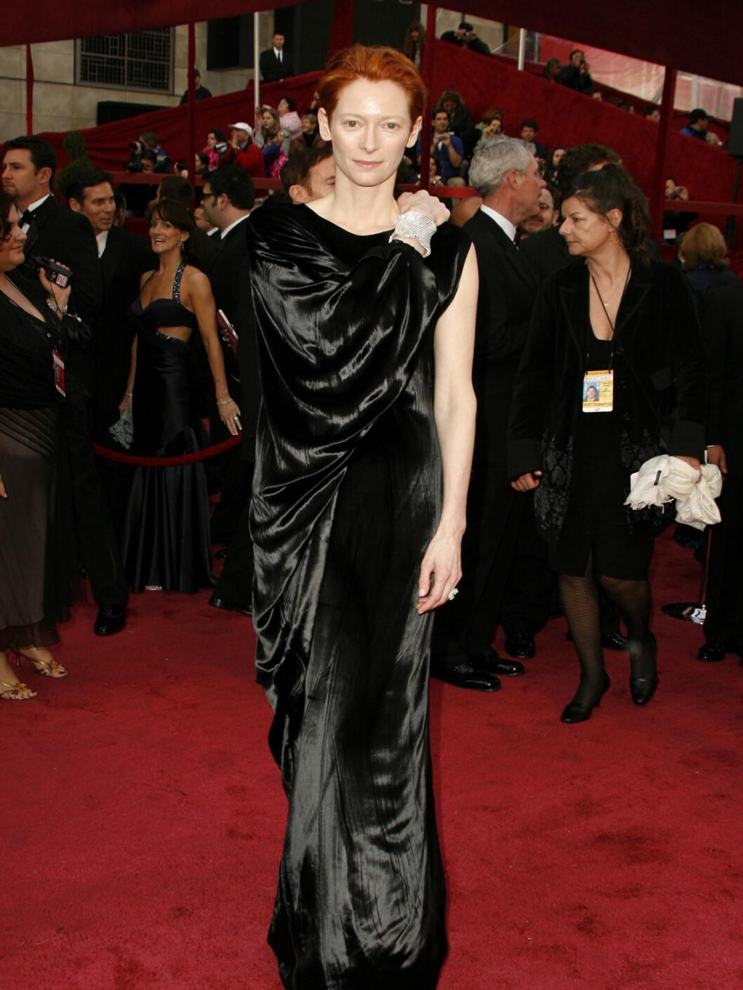 Oscar-vinner Tilda Swinton er med i kåringen... Foto: All Over Press
