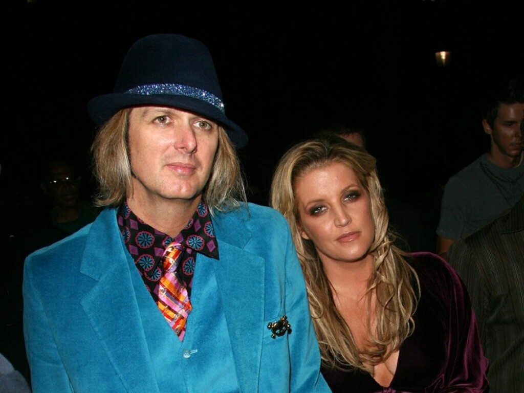 BLIR FORELDRE: Michael Lockwood og Lisa Marie Presley. Foto: All Over Press