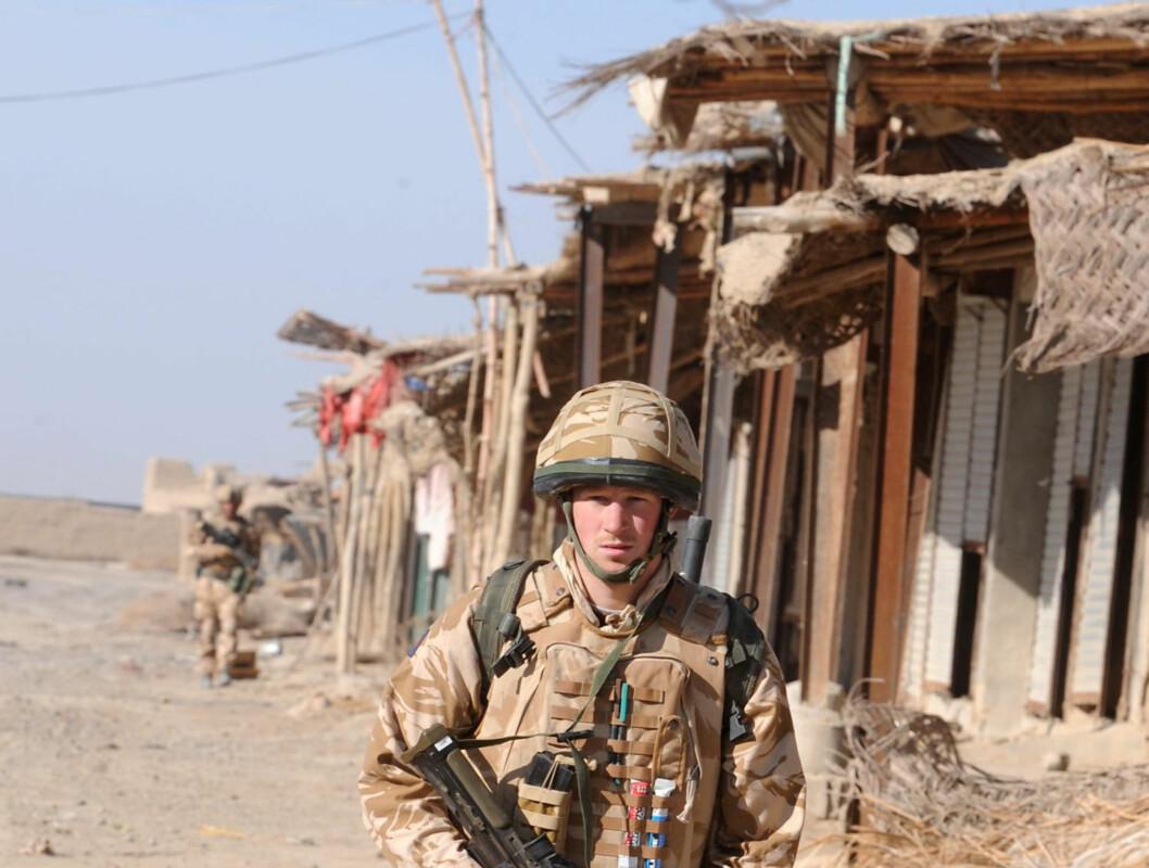 Prins Harry i Afghanistan. Foto: AP