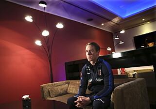 STERK I TROEN: Stefan Johansen håper å kunne bidra positivt mot Tsjekkia. Foto: Vidar Ruud / NTB Scanpix