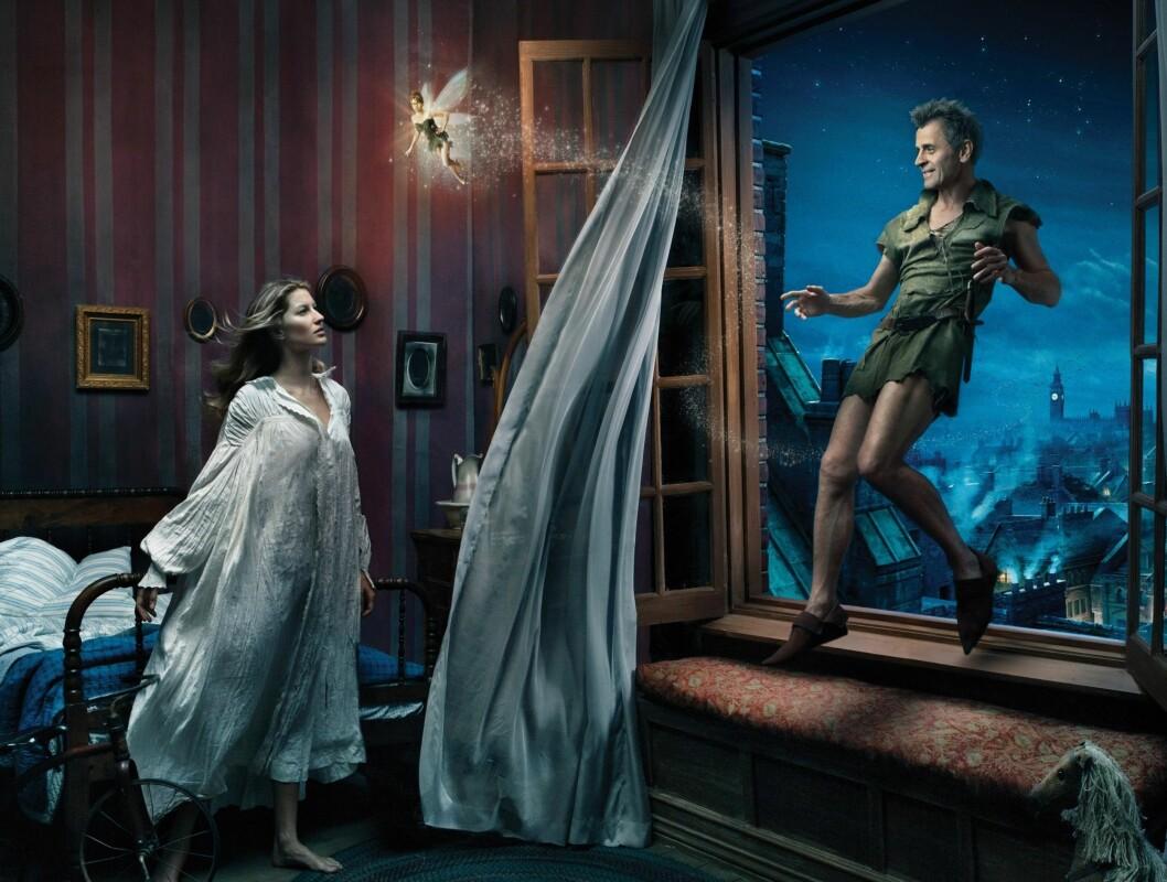 "PETER PAN: ""Sex and the City""-stjernen Mikhail Baryshnikov som Peter Pan. Foto: AP"