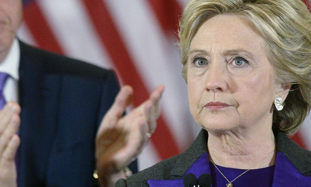 image: Clinton gir FBI-sjefen deler av skylda for tapet