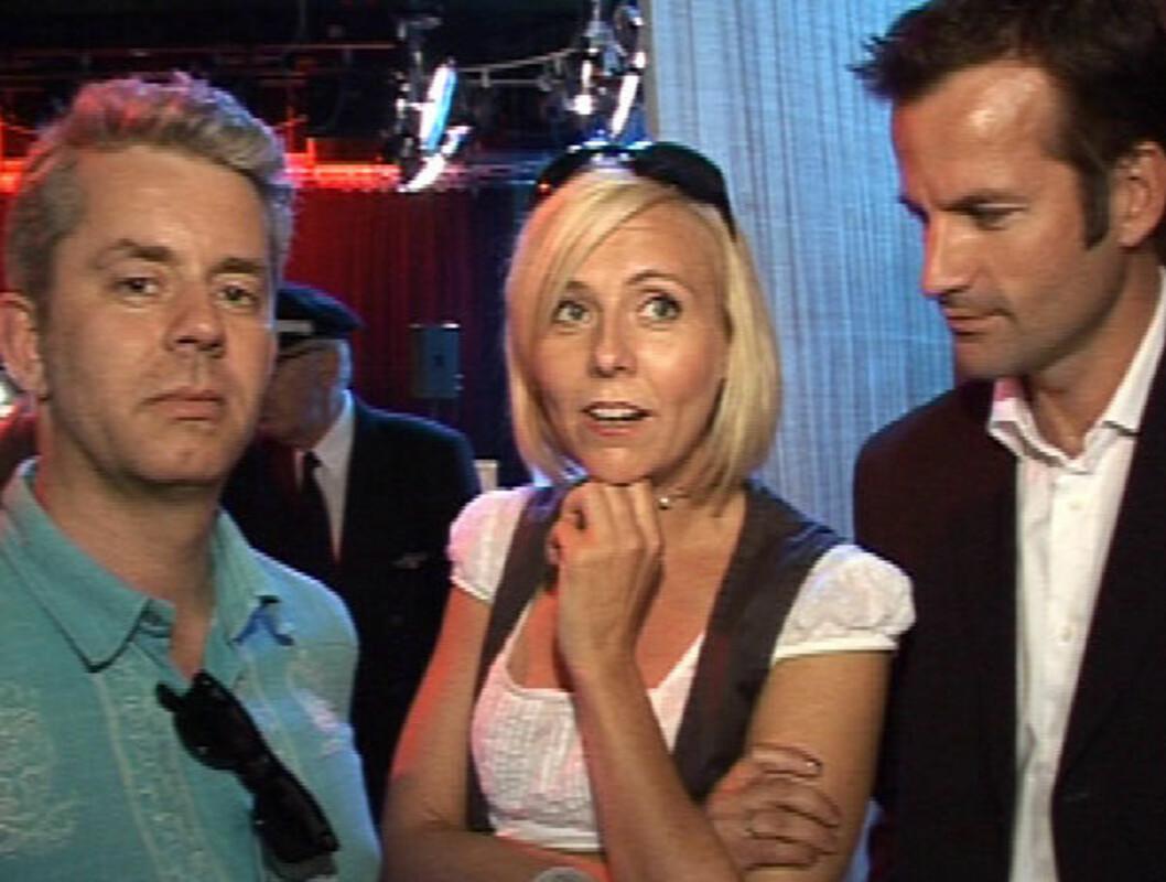 """DYKTIG: I høst tok Linn Skåber over etter Anne Kat. Hærland som programleder i det populære NRK-programmet """"Nytt på nytt"""". Foto: Seher.no"""
