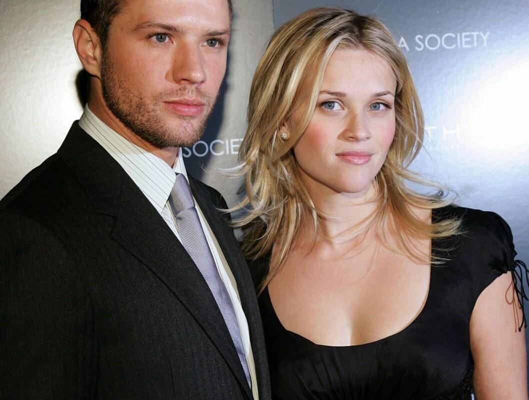 TØFT BRUDD: Ryan Phillippe ønsket å dø etter skilsmissen med Reese Witherspoon. Foto: All Over Press