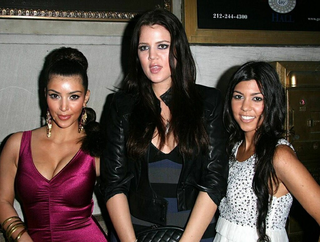 "REALITYSTJERNER: Kim, Kourtney og Khloe Kardashian er alle med i ""Keeping Up With The Kardashian's"". Bare en av dem er med i den nye sexvideoen. Foto: All Over Press"