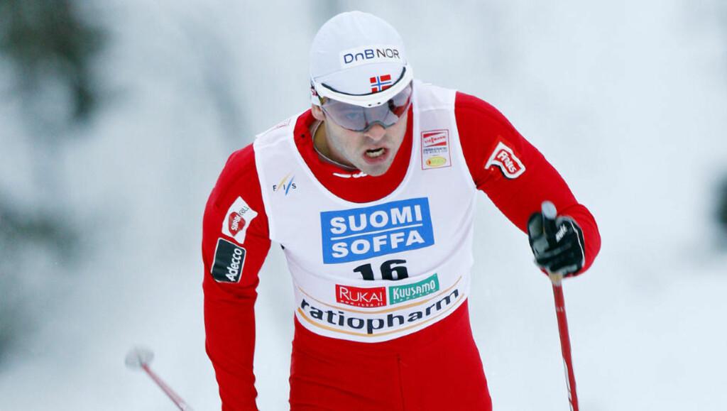 OVERLEGEN: Johan Kjølstad rykket fra konkurrentene midtveis, vant NM, og tok et langt skritt mot OL-billett. Foto: Heiko Junge / Scanpix